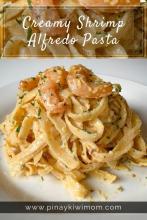 Creamy Shrimp Alfredo Pasta